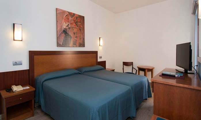 Double single use hotel torremolinos